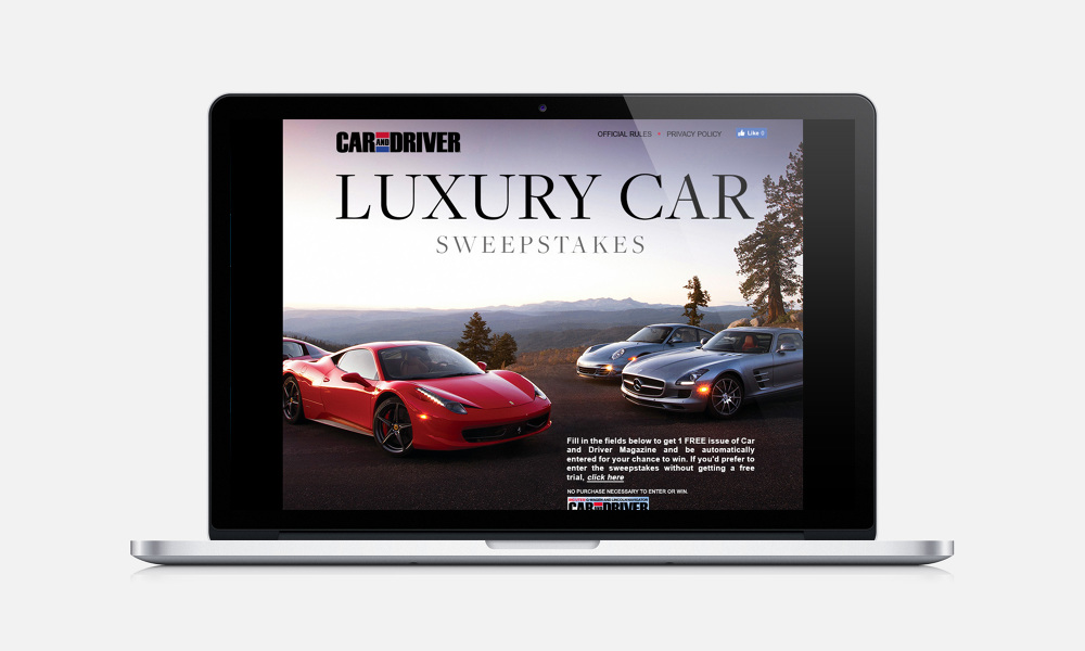 Car And Driver Luxury Car Sweepstlakes Philiplucianofrezzo