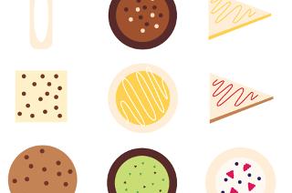 cake bake jennifer woodward graphic design