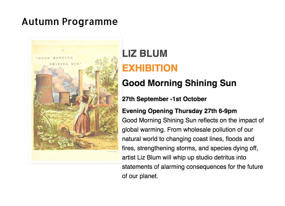Good Morning Shining Sun Liz Blum