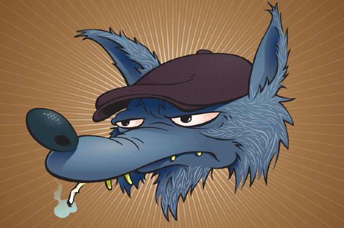 Rockabilly Wolf