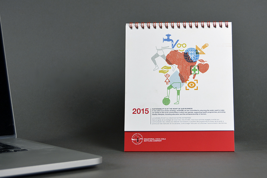 Calendario Business.Equatorial Coca Cola Bottling Company Calendario