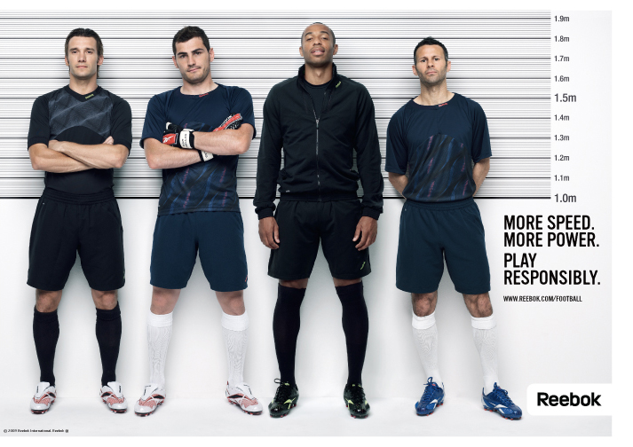 Conciliar canal suspensión  REEBOK 'PLAY RESPONSIBLY' FOOTBALL - The Adventures of Richard