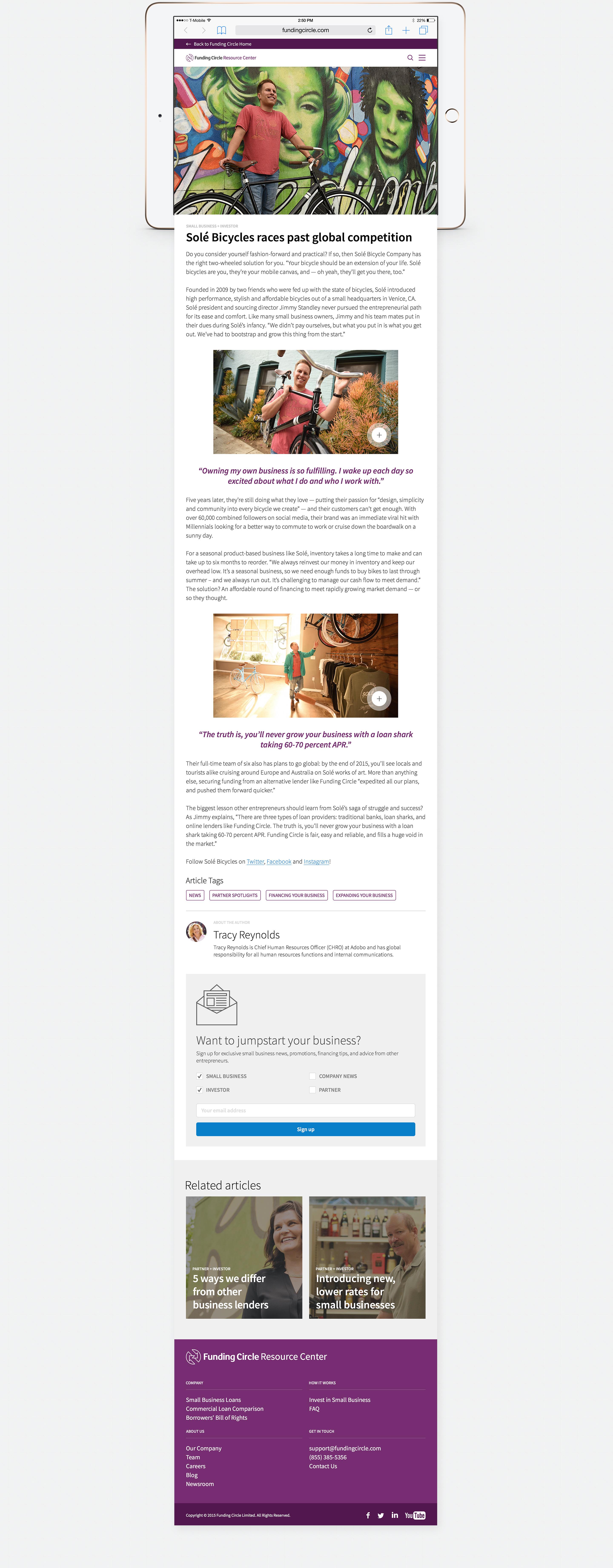 Funding Circle - Cez Raquion — Graphic Design