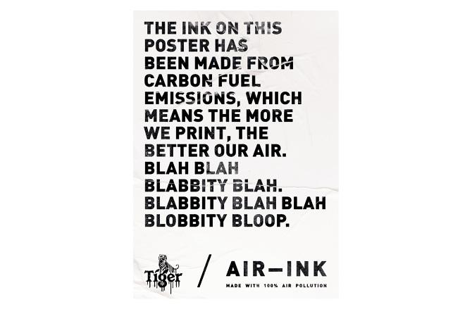 Tiger Beer Air–Ink™ - black2sugars – Jeremy Hogg