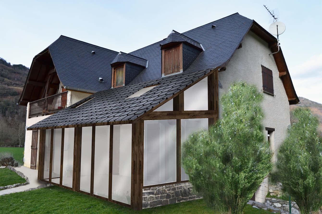 Construire Un Pool House amÉnagements extÉrieurs - léa fort architecte d'intérieur
