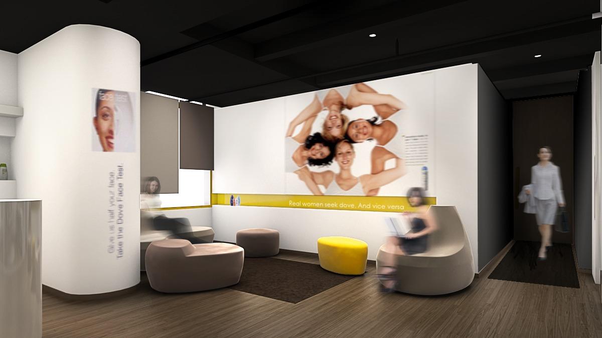 Test Architecte D Intérieur unilever showroom - léa fort architecte d'intérieur