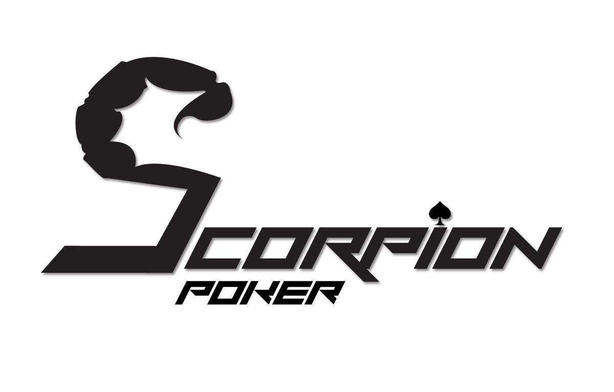 Scorpion Poker Logo Clark King Design