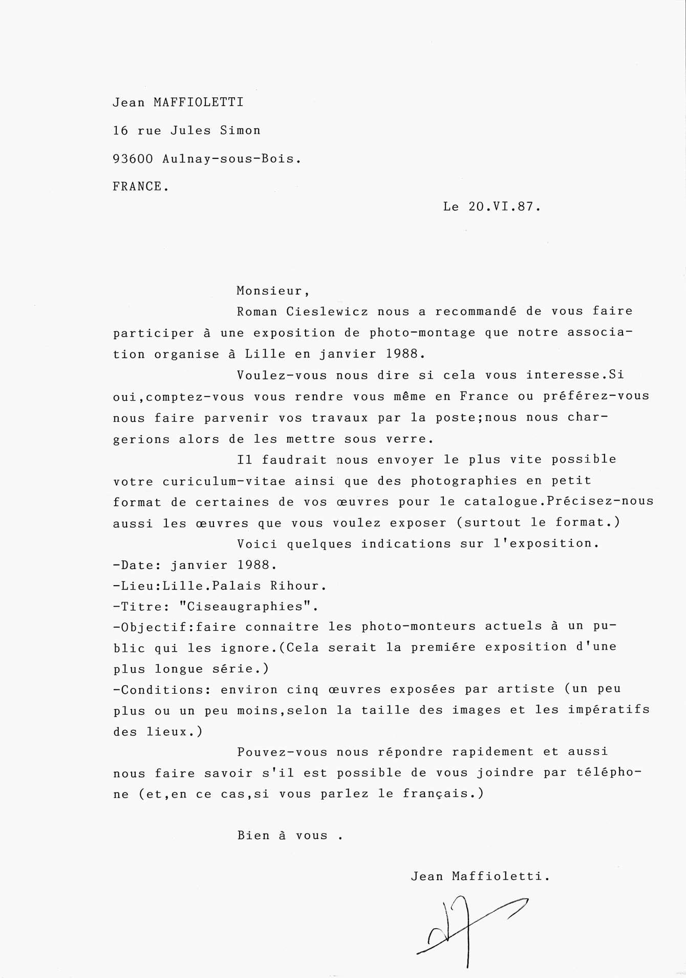 Selection Of Letters Ii Stane Jagodič