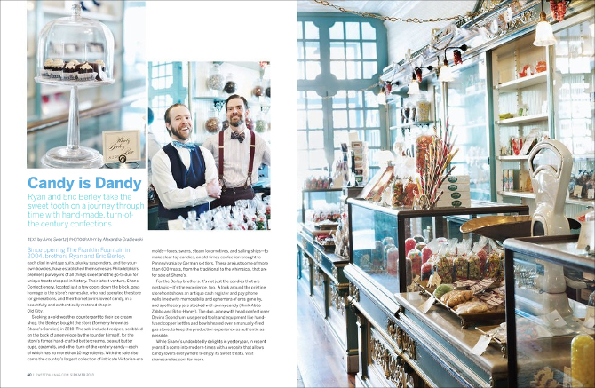 Candy Is Dandysweet Paul Magazine Aimee Swartz