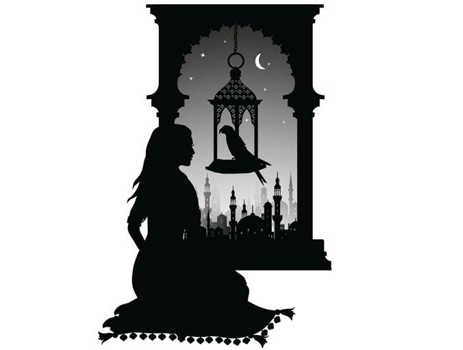 Arabian Nights Laura Barrett Illustration Portfolio