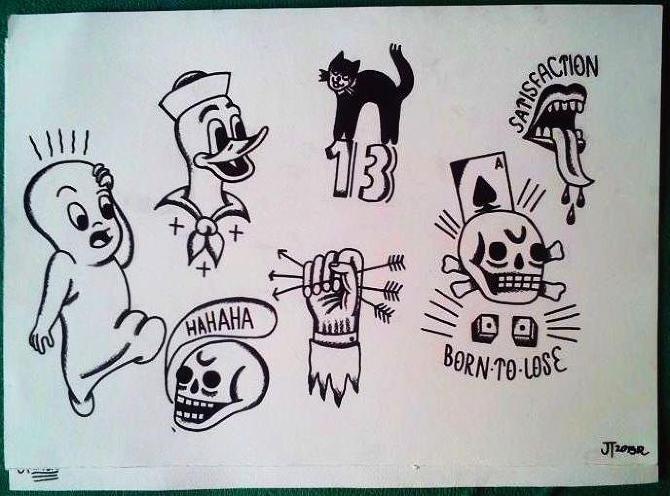 Tattoo Flash Tramecourtjakub