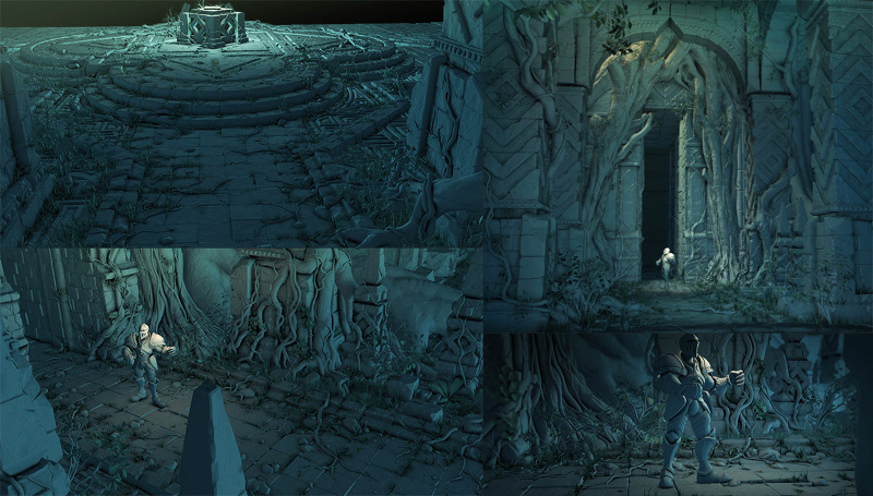 Ancient Temple - 3D Environment - kamyarfadai
