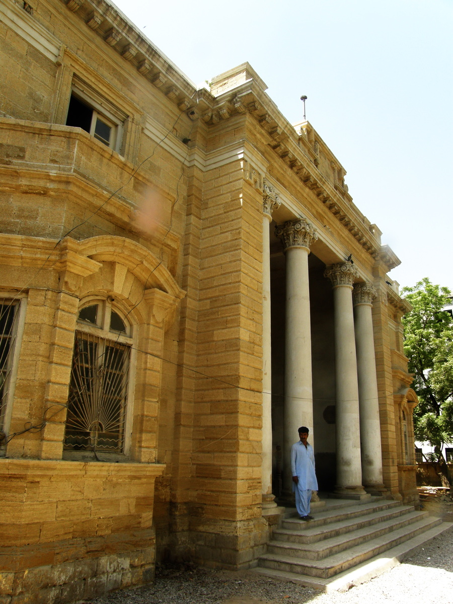 """Sindh Wildlife Museum (The old free masons """"Lodge of Hope"""