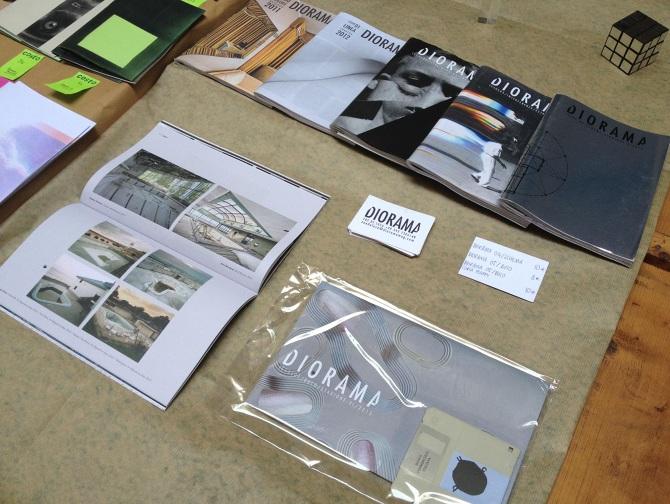 Diorama magazine chiarasalvatori for Arredatore milano