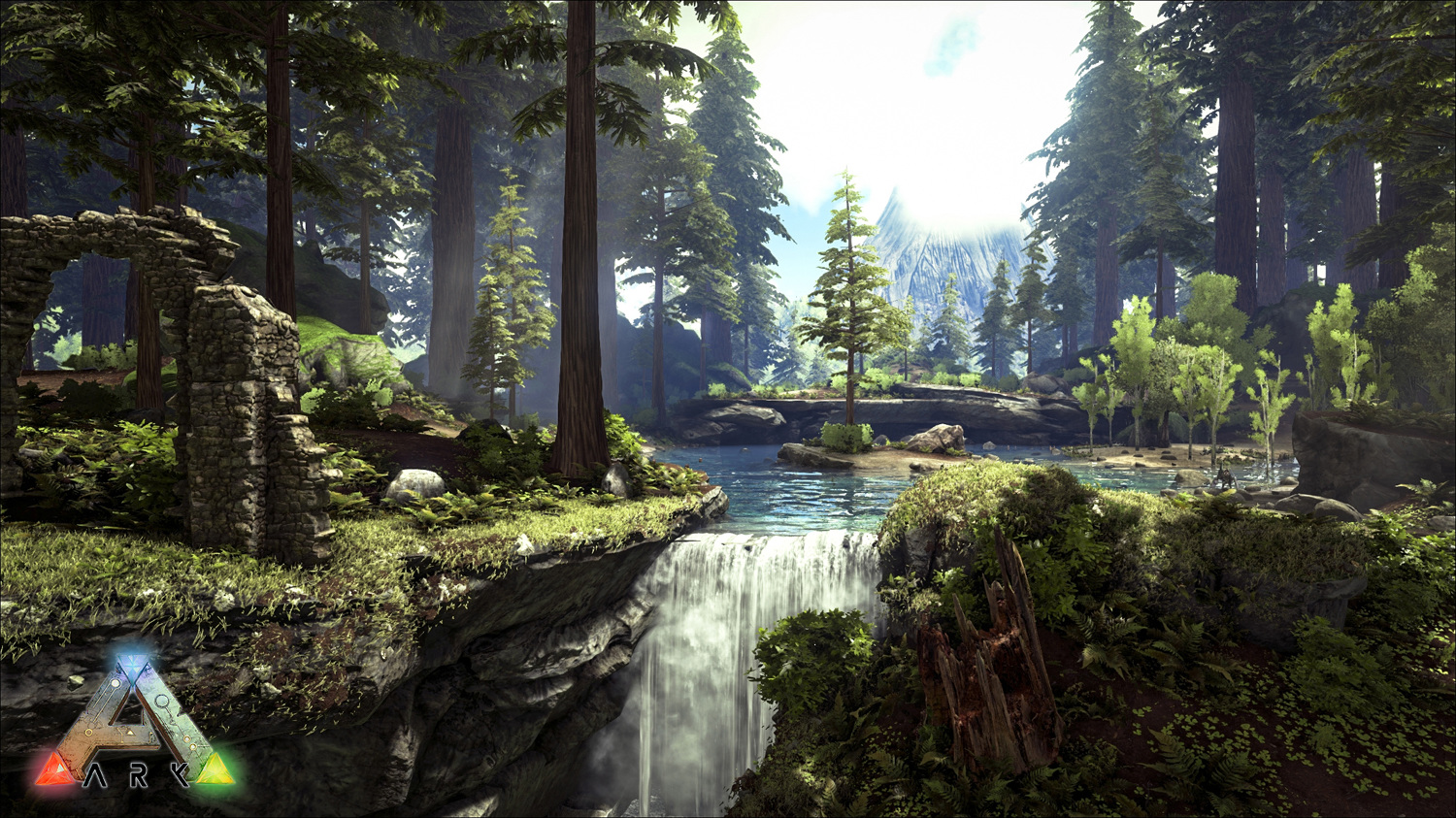 Picture of: Ark Survival Evolved Redwood Biome Update Art Of William Tate