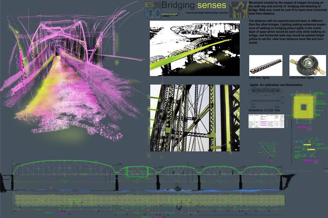 Bridge lighting design naukabaxi personal network
