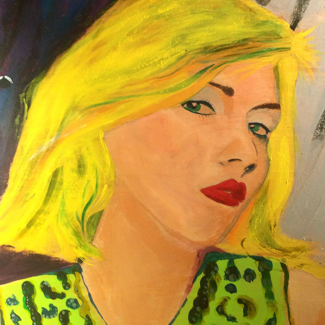 Artist & Fleas Painting - EEEUUUNNNIIICCCEEE