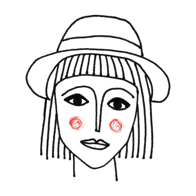 Illustrazione I Disegni Bn Di Pamela Cocconi Osso Magazine