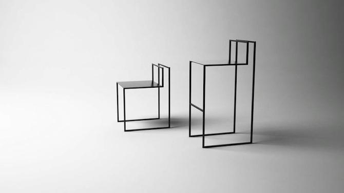DESIGN: L'illusione ottica nelle sedie di NN design Band