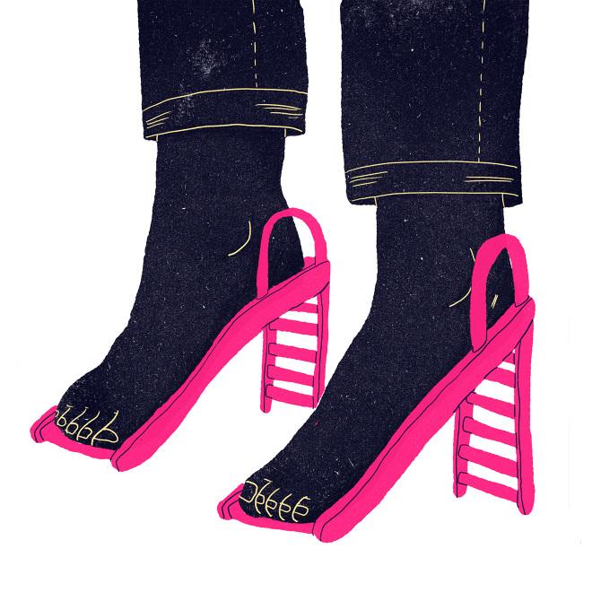 ILLUSTRAZIONE  Le scarpe inusuali di Cecilia Campironi - Osso Magazine ef7d67ea3e2