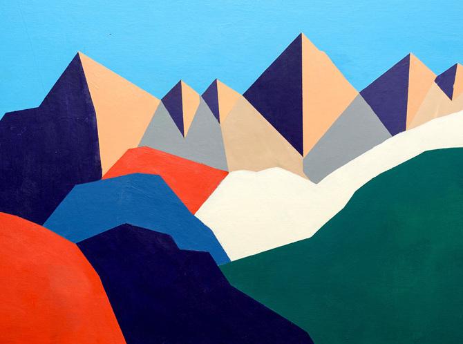 Arte Le Montagne Colorate Di Séverine Dietrich Osso Magazine
