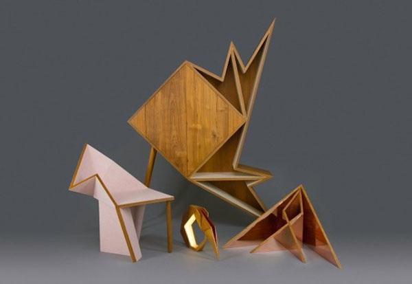Lampada Origami Di Edward Chew : Design the oru series mobili ispirati a origami osso magazine