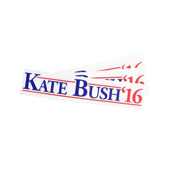 Kate Bush Bumper Sticker - Eggypress-9869