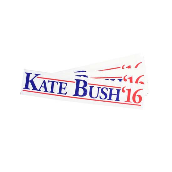 Kate Bush Bumper Sticker - Eggypress-4256
