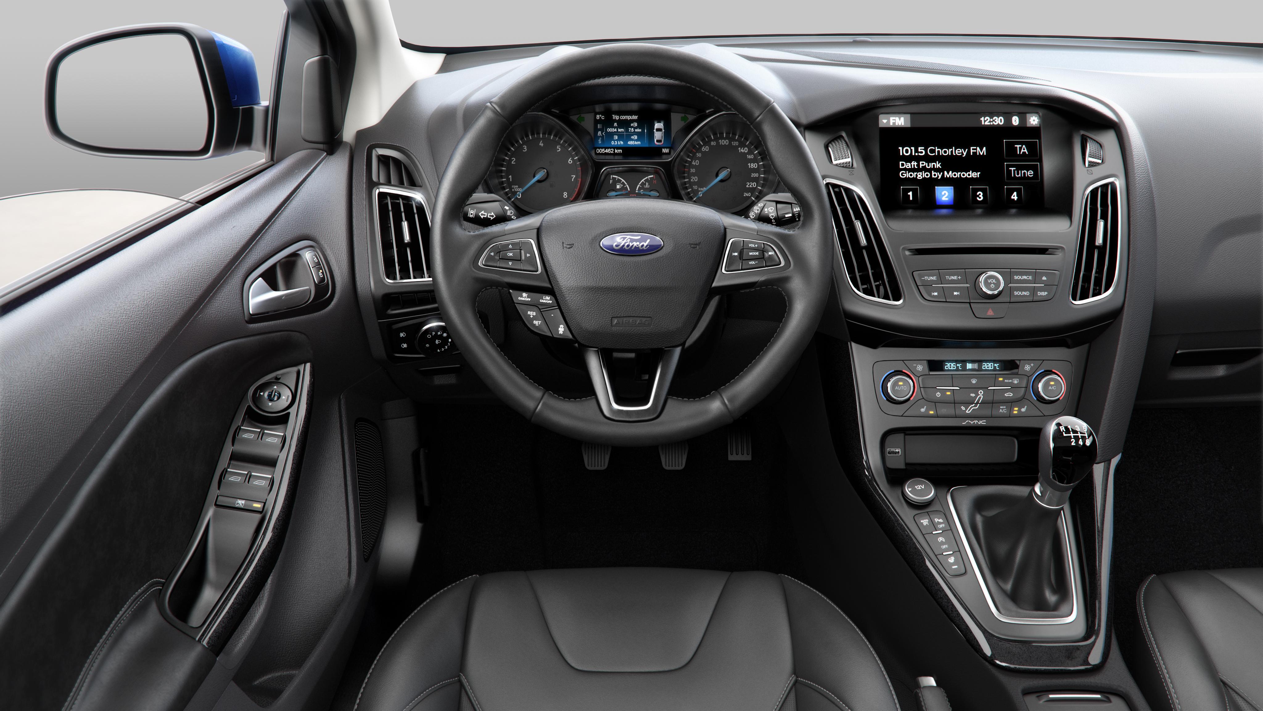 Superb Ford Focus 2015 Interior Visulisation Ashton Woolley