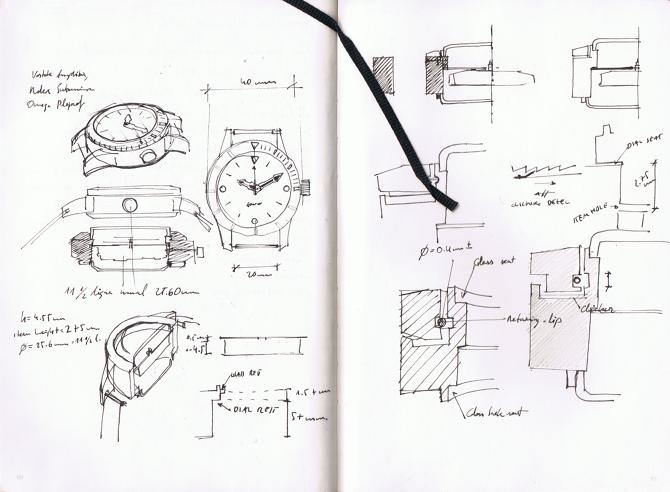 3d Printed Alumide Watch