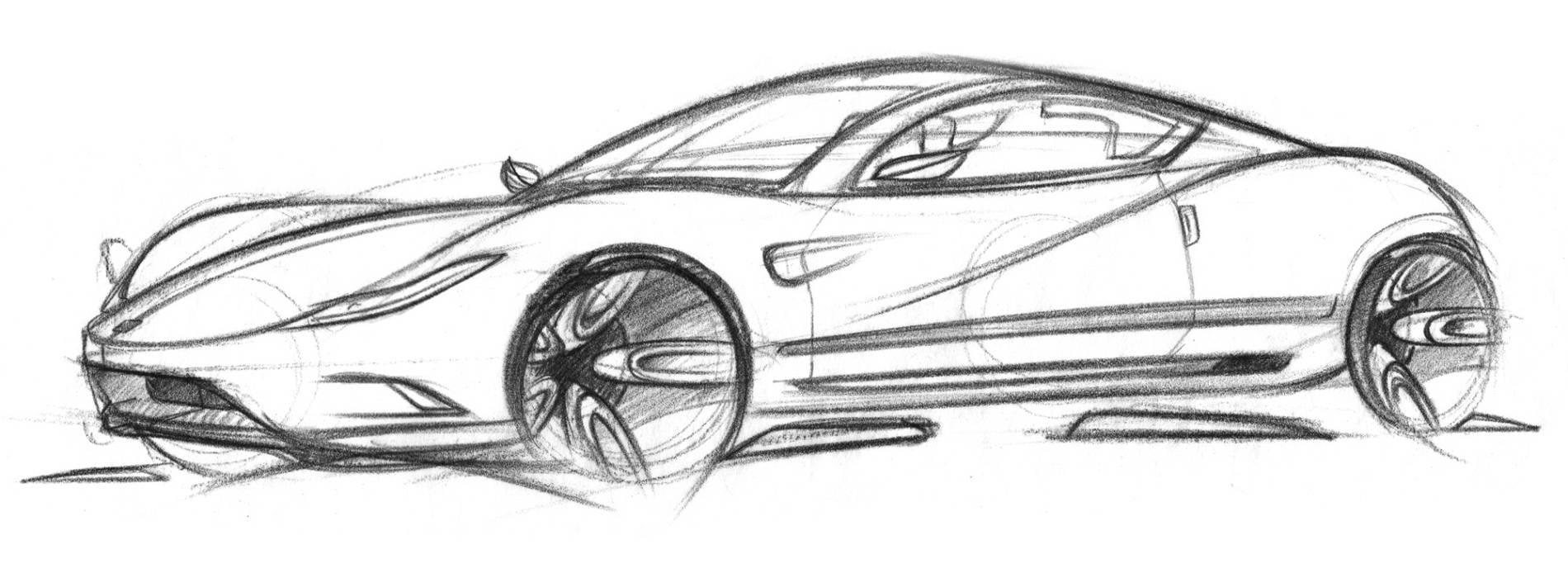 Car 21 Ferrari 1125 Sketch