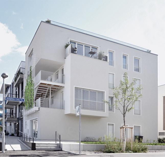Mixed use development in tuebingen germany - Kohler grohe architekten ...