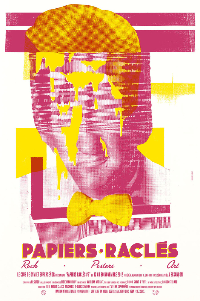 Papiers Raclés #2 - Renaud Vigourt