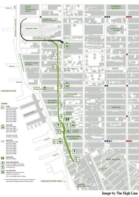 High Line Competition Nycstudioarch