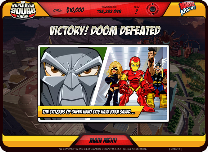 Marvel Tower Defense