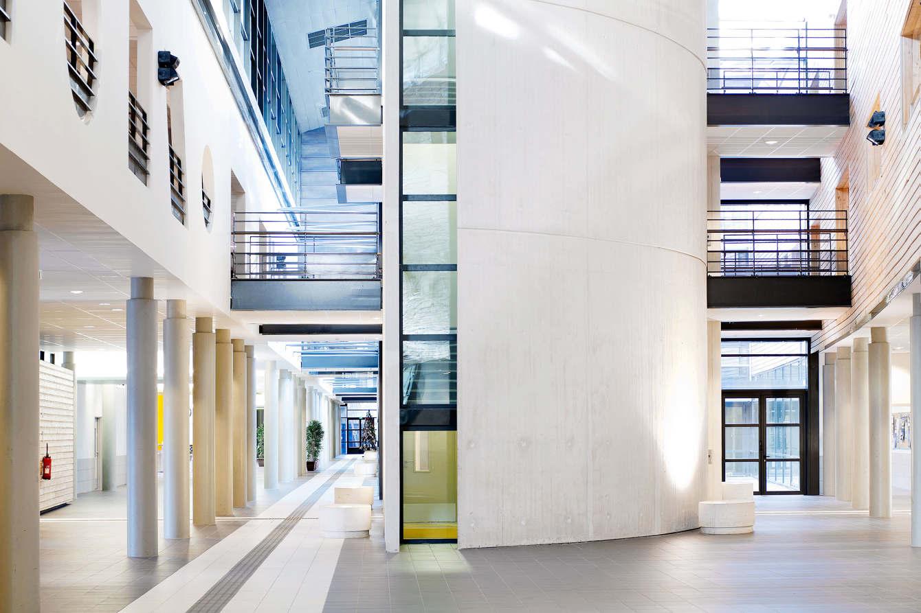 Atelier Du Luminaire Toulouse lycee toulouse-lautrec / jard brychcy architecture - www