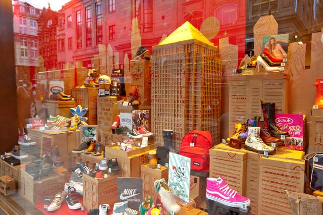 huge selection of 78b2b 0f2de Schuh Window Display - Oxford Street - Mark O'Brien - MOB ...