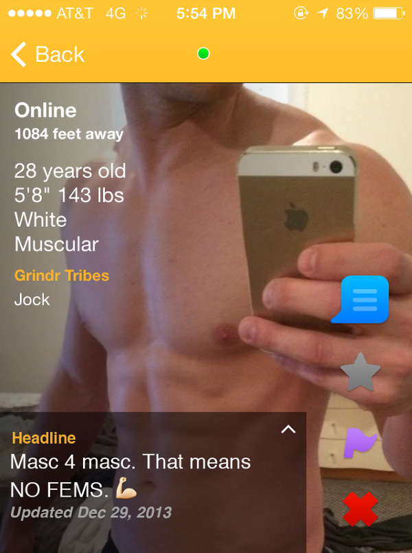 Tribes what is grindr Identity Crisis