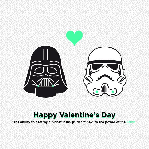 Star Wars Valentine S Day Fabio Pistoia