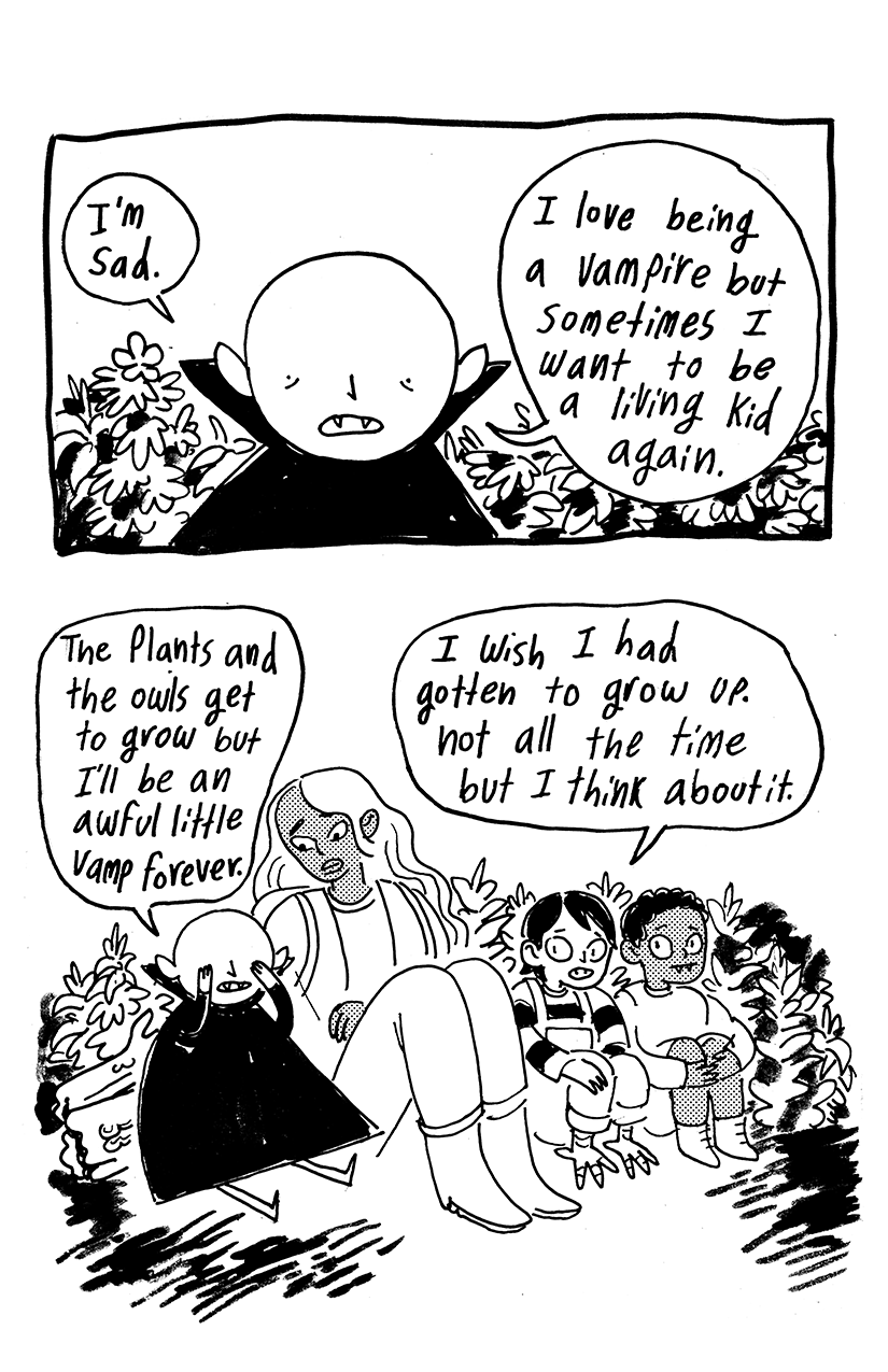 Spring Comic - Madeline McGrane