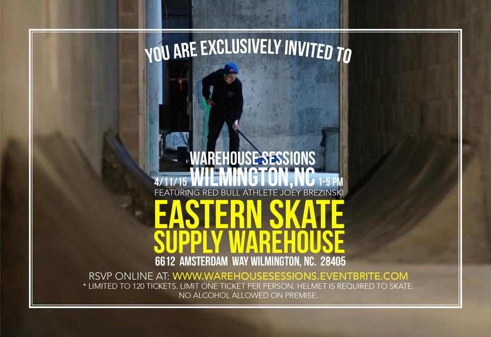 Warehouse Sessions Flyer - Lauren Casey