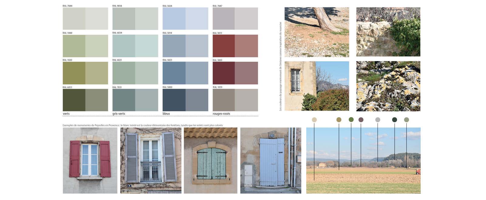Couleur Volet En Provence peyrolles-en-provence - michael menuet architecte