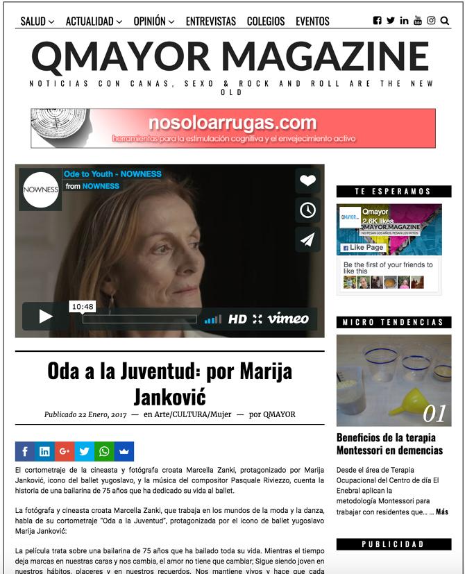 PRESS - Marcella Zanki