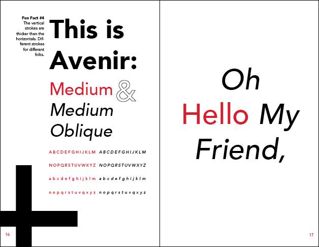 Avenir Type Book - www lucaslong com