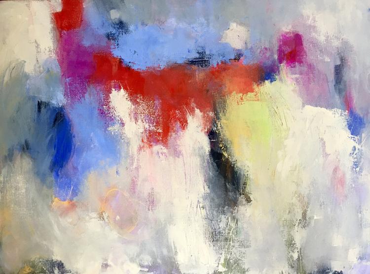 Acrylic on Canvas - Robin Schlacter
