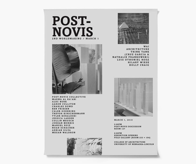 more photos a10be 851b8 The Second Worldmaking of Post-Novis, a Narrative Architecture installation  opens at the College of Architecture at the University of Nebraska-Lincoln  on ...