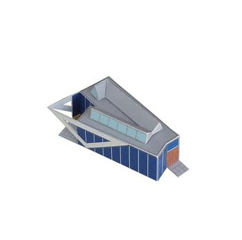 Finland - FLUX-models | papercraft architecture
