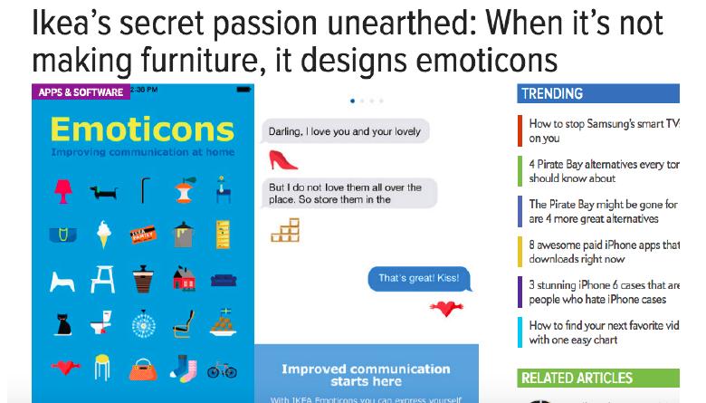 IKEA Emoticons - Pim Gerrits