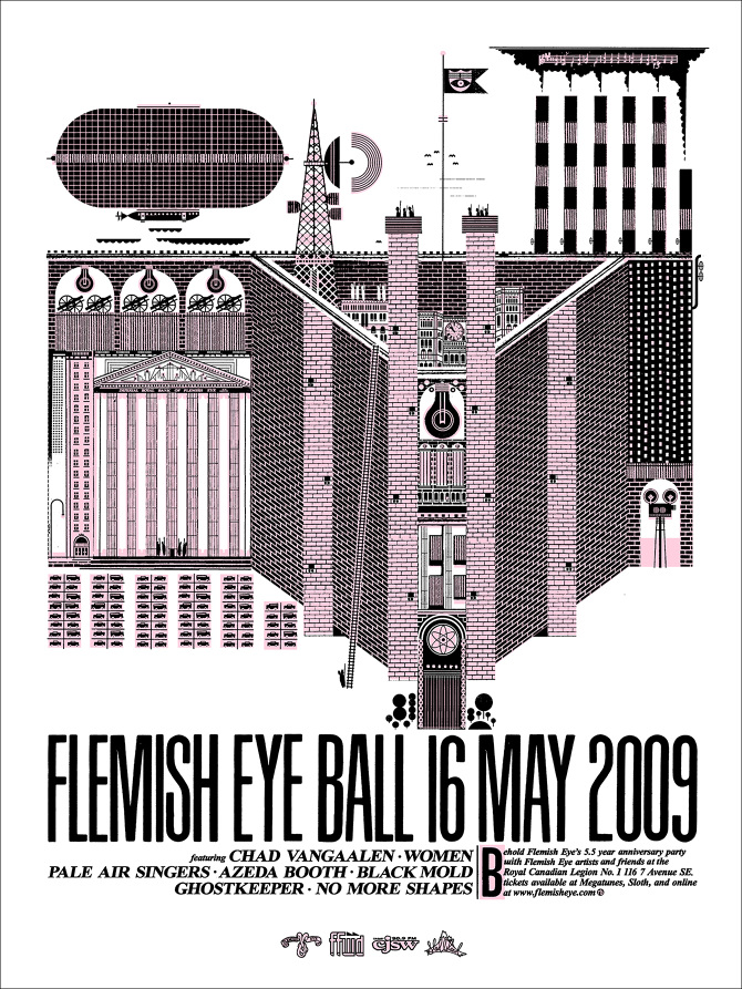 fe2f9f279f0 In May of 2009 Flemish Eye Records of Calgary threw its 5.5-year  anniversary party. I couldn t be there