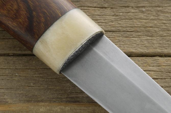 Ironwood, Antler Puukko - SPAKE KNIFE